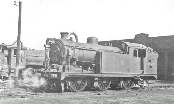 69691 at Annesley MPD 24 May 1953